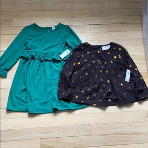 Old Navy NWT Dress and Top Bundle size 4t